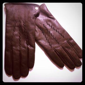 Leather gloves Ralph Lauren